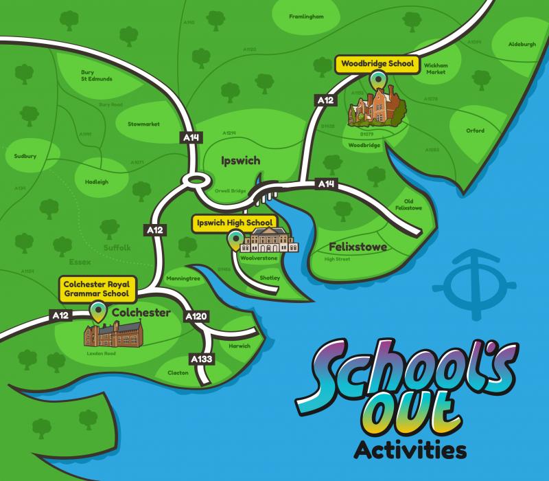 3 venue map